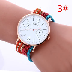 Bohemia Style Colorful Chain Elastic Watch - Oh Yours Fashion - 3