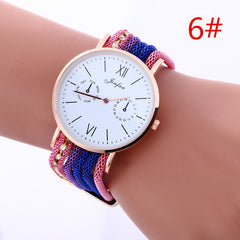 Bohemia Style Colorful Chain Elastic Watch - Oh Yours Fashion - 6
