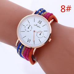Bohemia Style Colorful Chain Elastic Watch - Oh Yours Fashion - 8