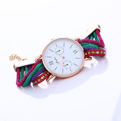 Bohemia Style Colorful Chain Elastic Watch - Oh Yours Fashion - 9