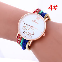 Bohemia Style Colorful Strap Elephant Watch - Oh Yours Fashion - 4