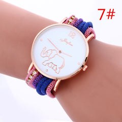 Bohemia Style Colorful Strap Elephant Watch - Oh Yours Fashion - 7