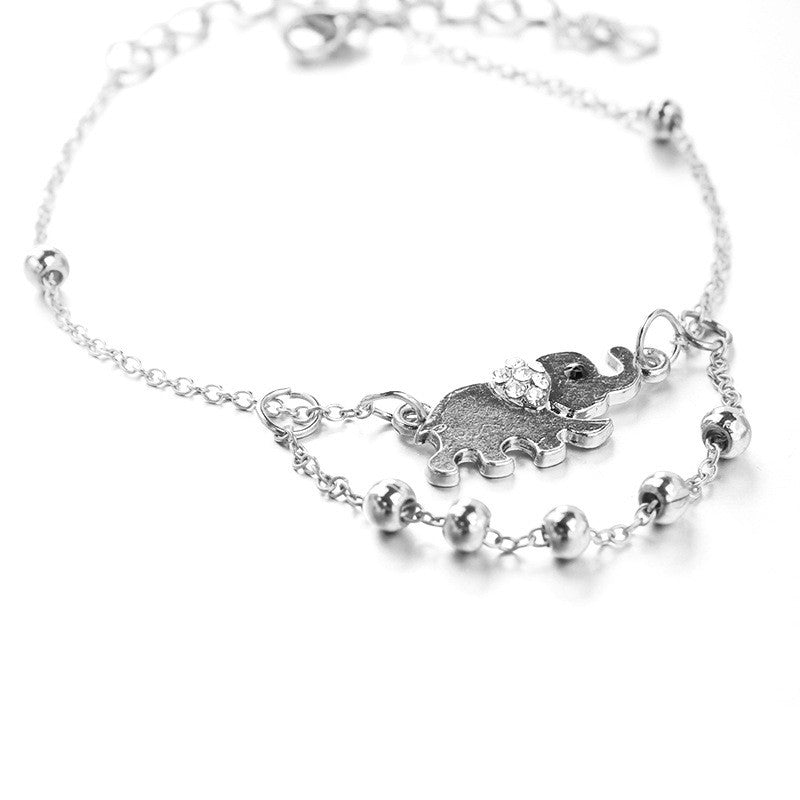 Beautiful Elephant Beads Anklet - Oh Yours Fashion - 3