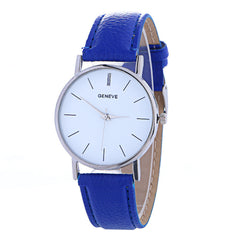 Hot Style Simple Leather Watch - Oh Yours Fashion - 4