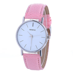 Hot Style Simple Leather Watch - Oh Yours Fashion - 7