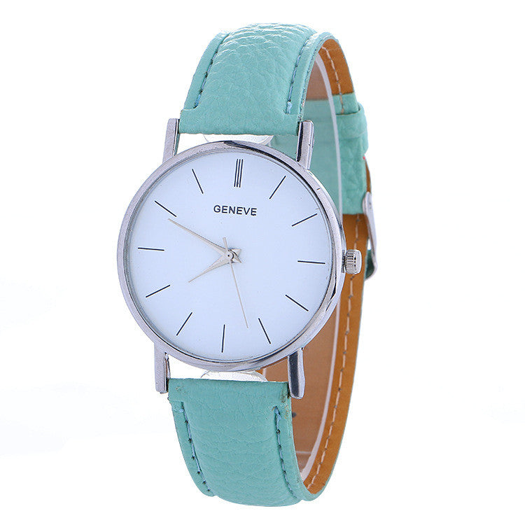 Hot Style Simple Leather Watch - Oh Yours Fashion - 1