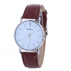 Hot Style Simple Leather Watch - Oh Yours Fashion - 6