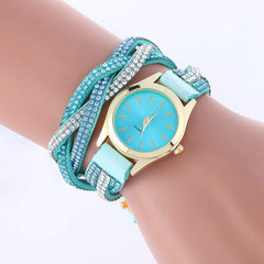 Classic Crystal Strap Quartz Watch - Oh Yours Fashion - 5