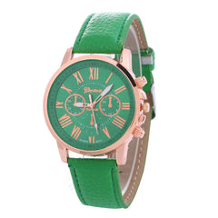Classic Three Leather Watch - Oh Yours Fashion - 4