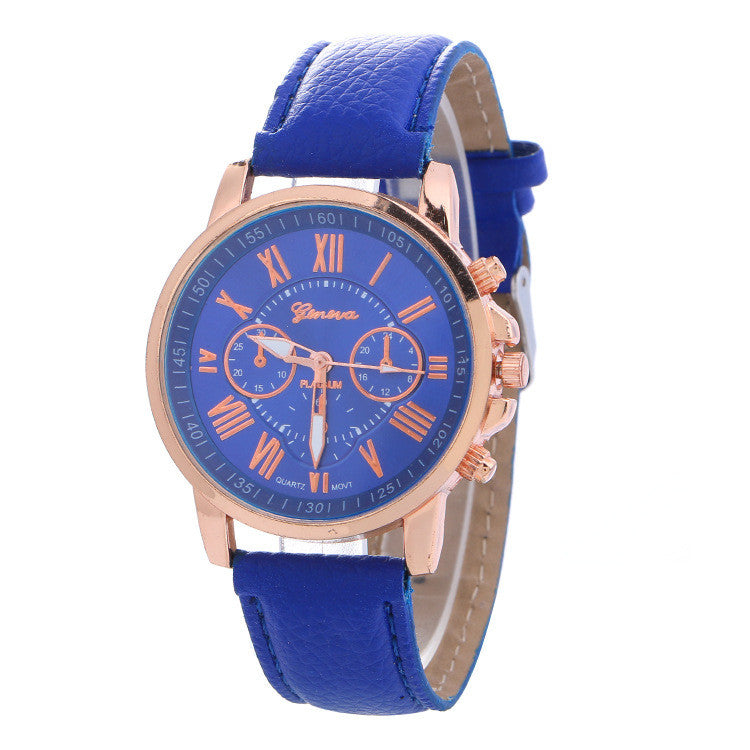 Classic Three Leather Watch - Oh Yours Fashion - 5