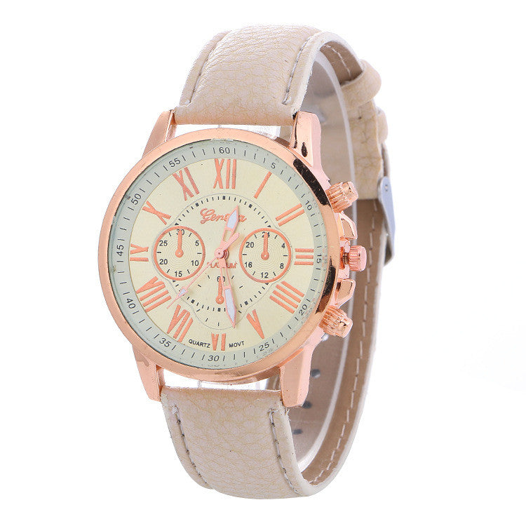 Classic Three Leather Watch - Oh Yours Fashion - 8