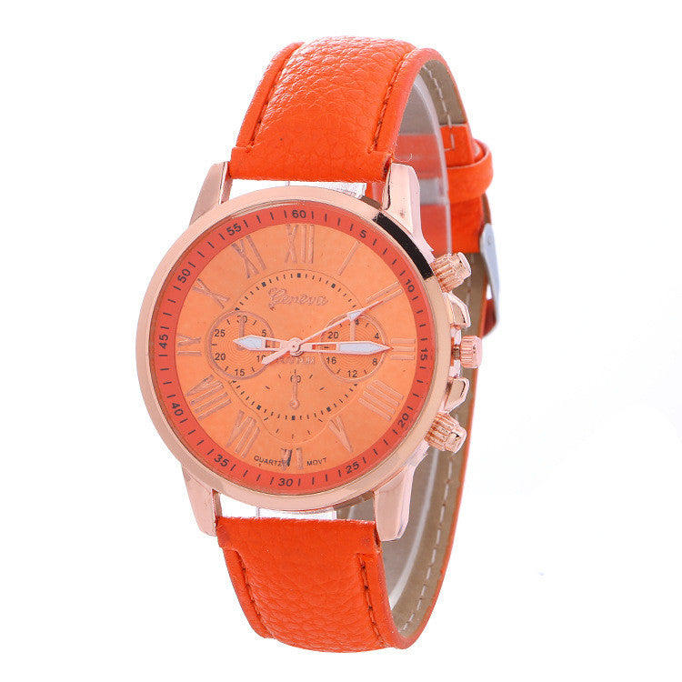 Classic Three Leather Watch - Oh Yours Fashion - 7