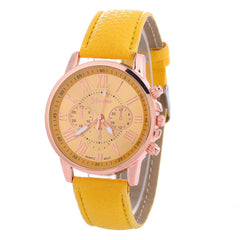 Classic Three Leather Watch - Oh Yours Fashion - 1