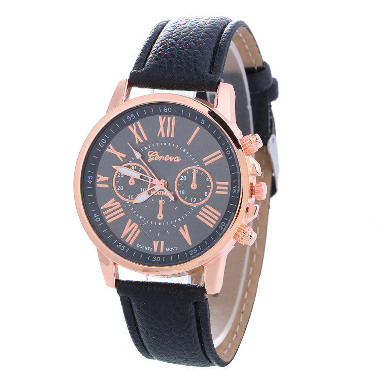 Classic Three Leather Watch - Oh Yours Fashion - 6