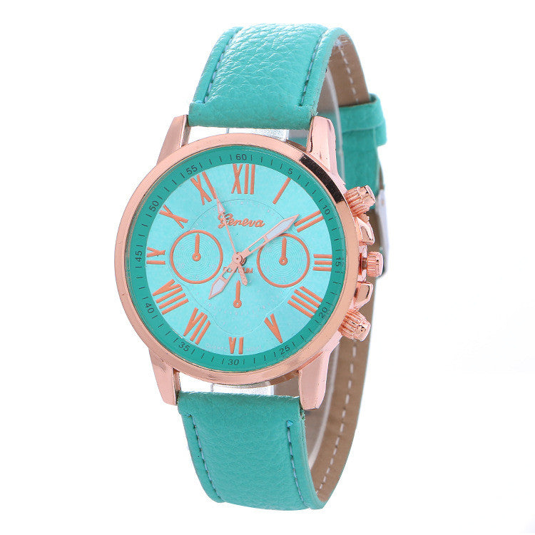 Classic Three Leather Watch - Oh Yours Fashion - 11