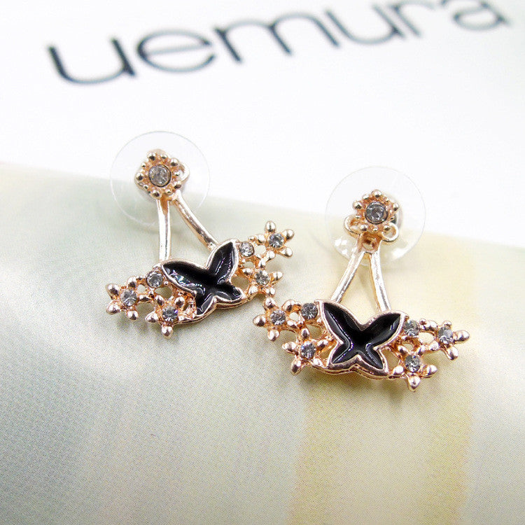 Daisy Flower Crystal Charming Earring - Oh Yours Fashion - 36