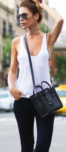 Sleeveless Scoop Casual Pure Color Sexy Vest - Oh Yours Fashion - 3