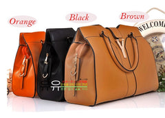 Fashion Europe Women Lady Handbag Satchel bag PU Leather - Oh Yours Fashion - 2