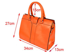 Fashion Europe Women Lady Handbag Satchel bag PU Leather - Oh Yours Fashion - 3