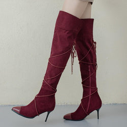 New Fashion Over The Knee Boots