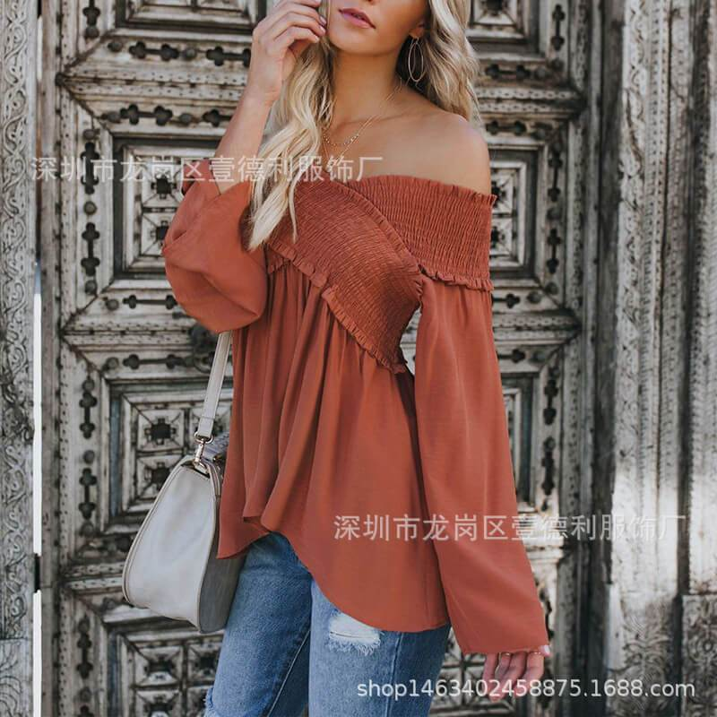 Off Shoulder T-shirt