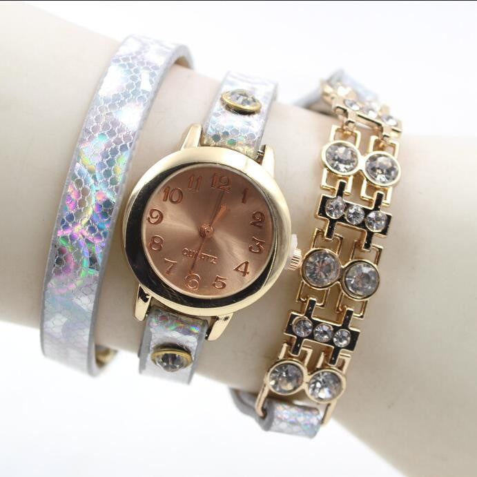 Personality Crystal Patchwork Watch - Oh Yours Fashion - 2