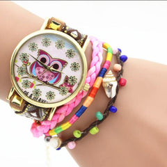 Owl Multilayer Bracelet Watch - Oh Yours Fashion - 5