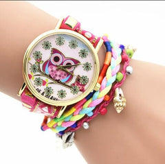 Owl Multilayer Bracelet Watch - Oh Yours Fashion - 6
