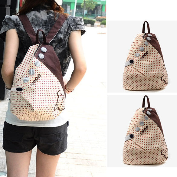 2012  New S ummer Korean Dot Academy Shoulders Bag - Oh Yours Fashion - 1