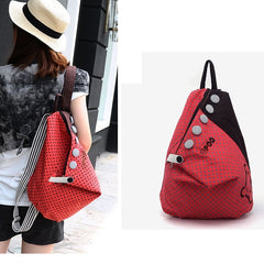 2012  New S ummer Korean Dot Academy Shoulders Bag - Oh Yours Fashion - 2