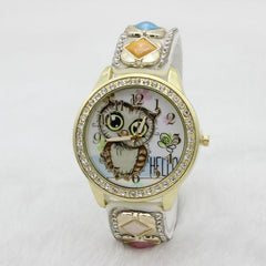 Cute Owl Square Gems Watch - Oh Yours Fashion - 2