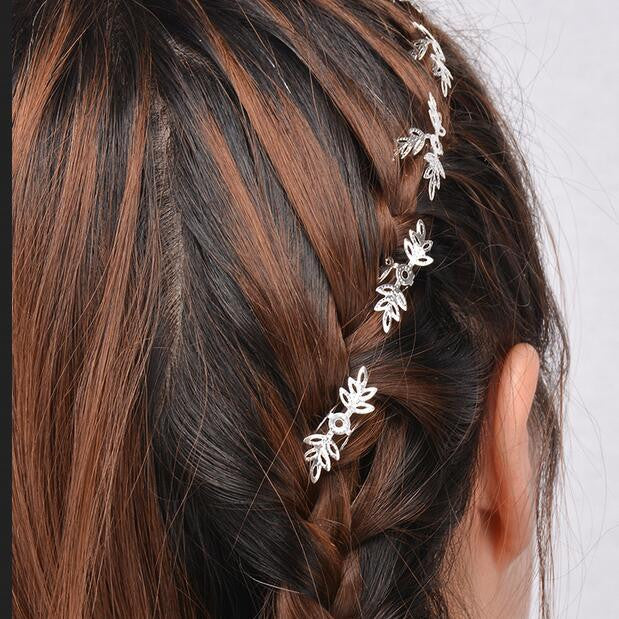 Beautiful Snowflake Lady's Hair Clips - Oh Yours Fashion - 1