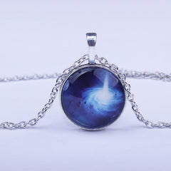 Beautiful Starry Sky Time Diamond Necklace - Oh Yours Fashion - 11