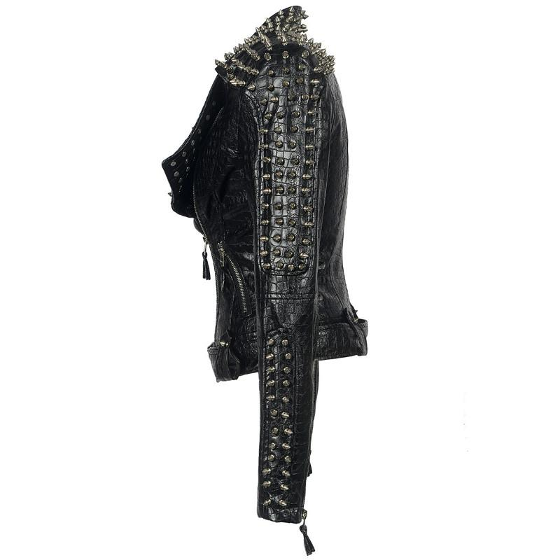 Rivet Studded Punk Jacket