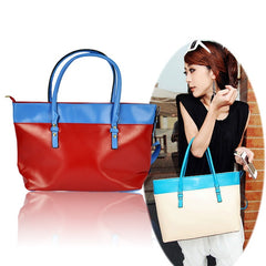 Women's PU Leather Satchel Luggage Tote Bag Handbag - Oh Yours Fashion - 1