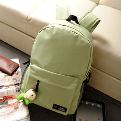 Pure Color Korean Style Flexo Backpack - Oh Yours Fashion - 9