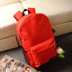 Pure Color Korean Style Flexo Backpack - Oh Yours Fashion - 2