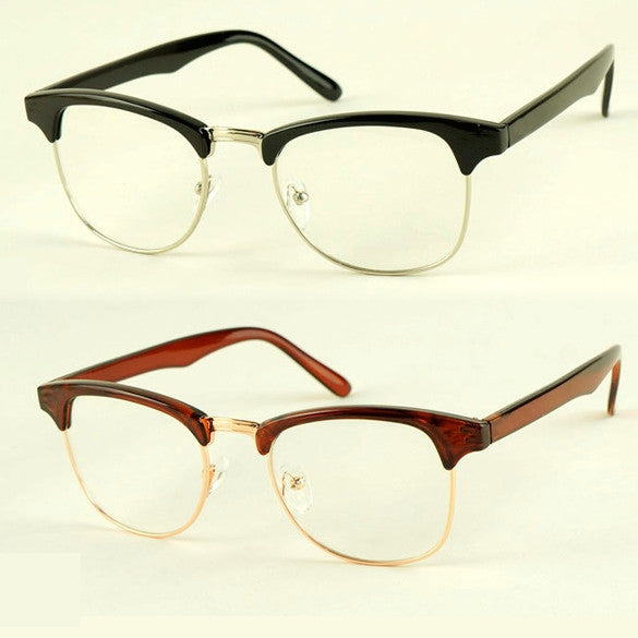 Fashion Korean Framed Glasses Plain Glass Spectacles - Oh Yours Fashion - 1