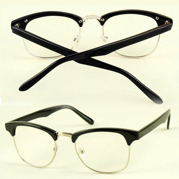 Fashion Korean Framed Glasses Plain Glass Spectacles - Oh Yours Fashion - 2