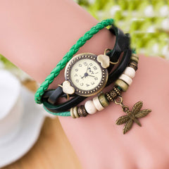 Dragonfly Decorate Multilayer Watch - Oh Yours Fashion - 6