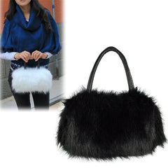 Winter Mini Lovely Fur Leather Handbag Shoulder Bag - Oh Yours Fashion - 1