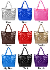 Korea Space Bale Winter Cotton Totes Lady Bag Shoulder Bag Handbag Bag - Oh Yours Fashion - 1
