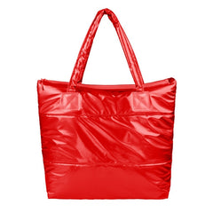 Korea Space Bale Winter Cotton Totes Lady Bag Shoulder Bag Handbag Bag - Oh Yours Fashion - 2