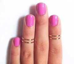 Exquisite Polished Thin Rings Set - Oh Yours Fashion - 2