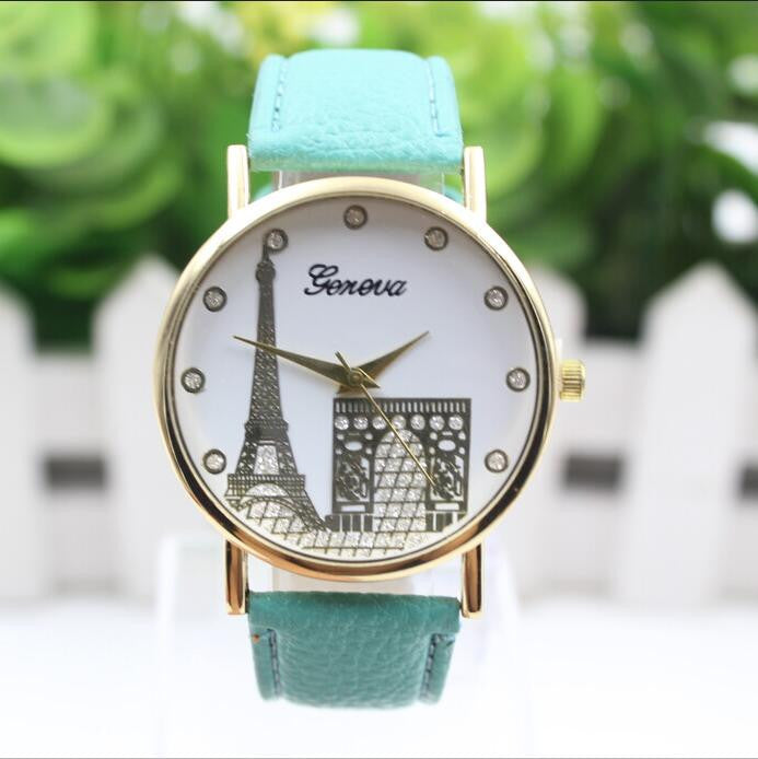 Building Design Print Leather Watch - Oh Yours Fashion - 8