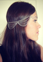 Beautiful Multiple Chain Tassel Hair Accessories - Oh Yours Fashion - 3