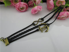 Fashion Multilayer Anchor Bracelet - Oh Yours Fashion - 2