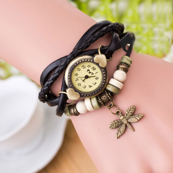 Dragonfly Decorate Multilayer Watch - Oh Yours Fashion - 7