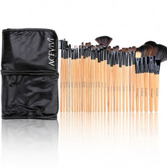 Acevivi New Fashion Professional 32pcs Soft Cosmetic Tool Makeup Brush Set Kit With Pouch - Oh Yours Fashion - 2