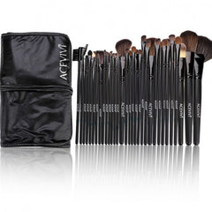 Acevivi New Fashion Professional 32pcs Soft Cosmetic Tool Makeup Brush Set Kit With Pouch - Oh Yours Fashion - 3